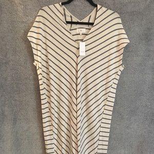 Lou and Grey Super Soft Striped Dress